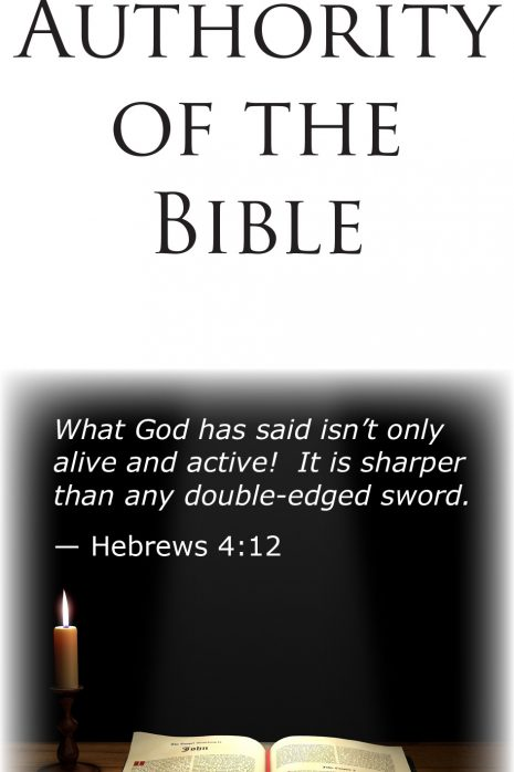 the_authority_of_the_bible